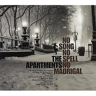 Wohnungen - keine Lied Nr. Bann No Madrigal [CD]-USA import