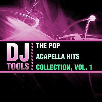 DJ Tools - Pop Acapella Hits Collection 1 [CD] USA importerer
