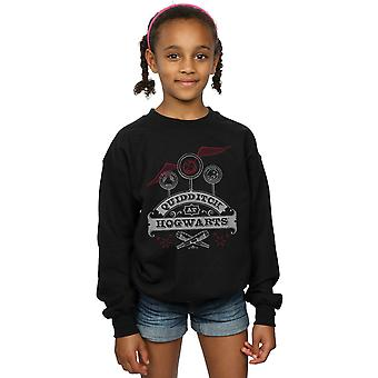 Harry Potter Girls Quidditch At Hogwarts Sweatshirt