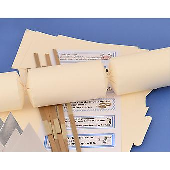 12 Ivory Make & Fill Your Own Cracker Kits | DIY Christmas Cracker Crafts