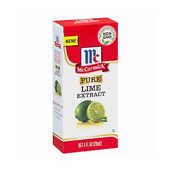 McCormick Pure Lime Extract 2 Bottle Pack