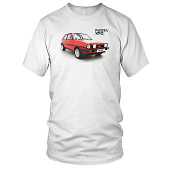 Ford Fiesta XR2 Classic 80s Car Front Kids T Shirt