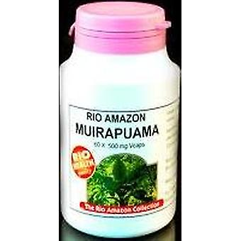 Rio Amazon, Muirapuama 500mg, 60 vegicaps