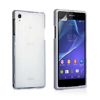 Yousave Zubehör Sony Xperia Z2 Gel Silikonhülle - Clear