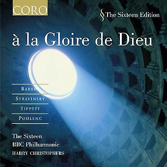 Seksten / Harry Christophers - La Gloire De Dieu [CD] USA import