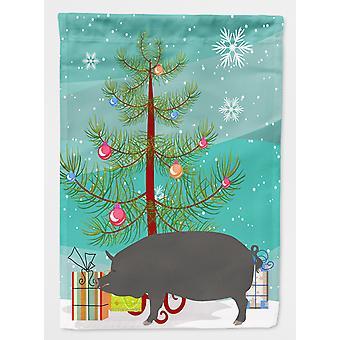 キャロラインズ宝物 BB9300GF バークシャー豚クリスマス フラグ庭サイズ