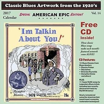 Forskellige kunstner - klassiske Blues illustrationer fra the 1920s kalender [CD] USA importerer