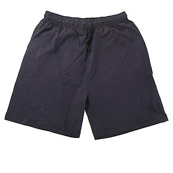 Mens Elasticated Plus Size Cotton Sport Shorts