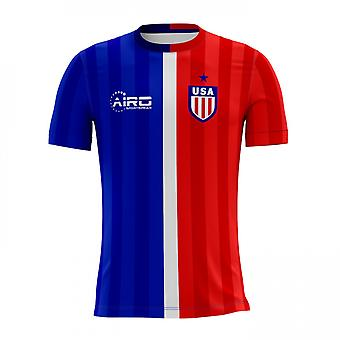 قميص كرة القدم مفهوم بعيداً 2018-2019 من الولايات المتحدة الأمريكية.