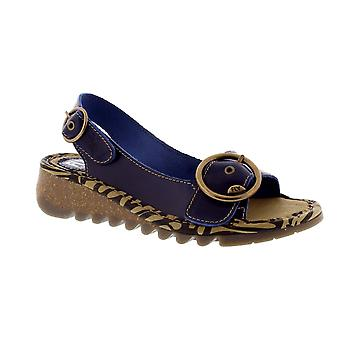 Fly London Tram - Blue Bridle (Leather) Womens Sandals