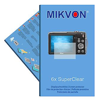 Nikon COOLPIX S3300 screen protector- Mikvon films SuperClear