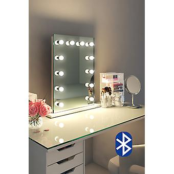 Diamond X Table Top Hollywood Audio Mirror with Dimmable LED k90sLEDaud