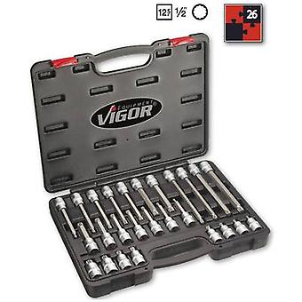XZN socket Bit set 26-piece