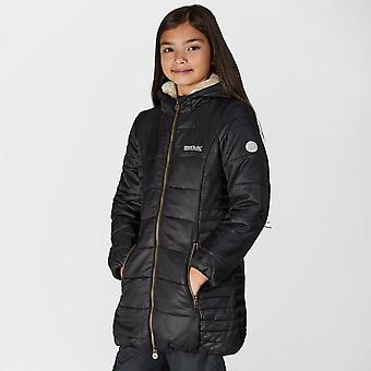 New Regatta Girl's Berryhill Insulated Jacket Black
