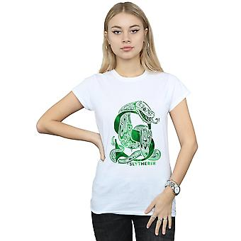 Harry Potter Women's Slytherin Snake T-Shirt