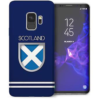 Samsung Galaxy S9 Schotland World Cup TPU Gel geval