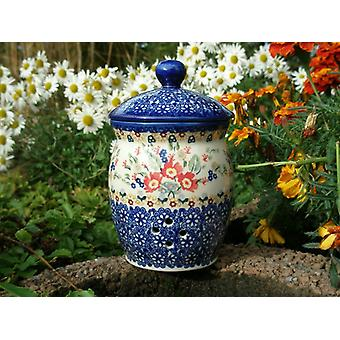 Garlic pot, 1 l, ↑18 cm, ø 12 cm, signature 8, BSN m-2494