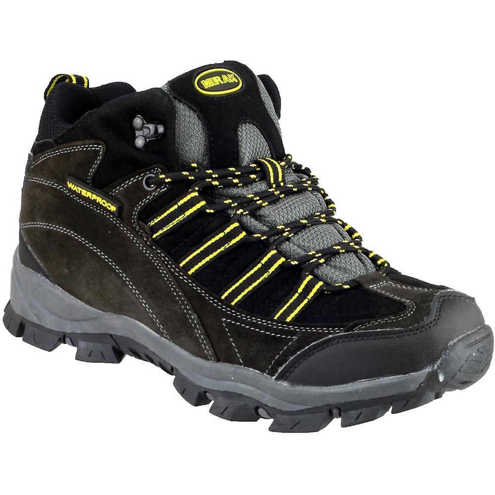 Mirak Mens Kentucky Waterproof Walking Hiking Boot Grey