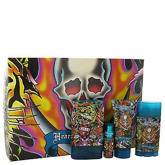 Ed Hardy Hearts & Daggers Gift Set By Christian Audigier
