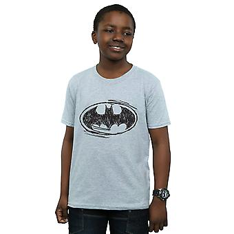 DC Comics Boys Batman Sketch Logo T-Shirt