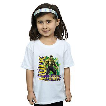 Marvel Girls Avengers Hulk Incredible Avenger T-Shirt