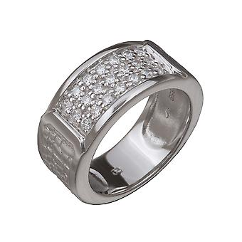 Orphelia sølv 925 Ring Zirconium ZR-3648