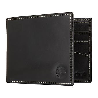 Timberland Herren Geldbeutel Portemonnaie Geldbörse Schwarz 7101