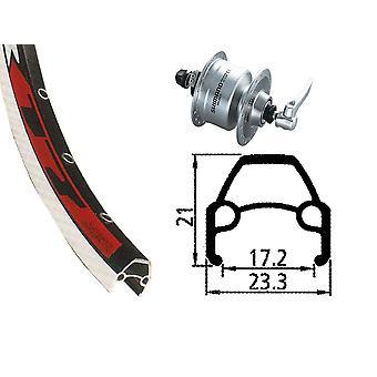 Bike parts 28″ Rodi VR 17 wheel + hub Dynamo DH-3N72 (QR) Shimano