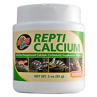 Zoo Med Repti-Calcio con D3 85 gr (Reptiles , Food Supplements)