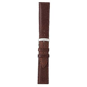 Morellato Strap Only - Ibiza Lizard Calf Brown 16mm A01X3266773032CR16 Watch