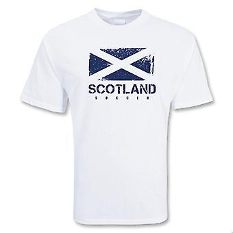 Skottland Soccer t-skjorte