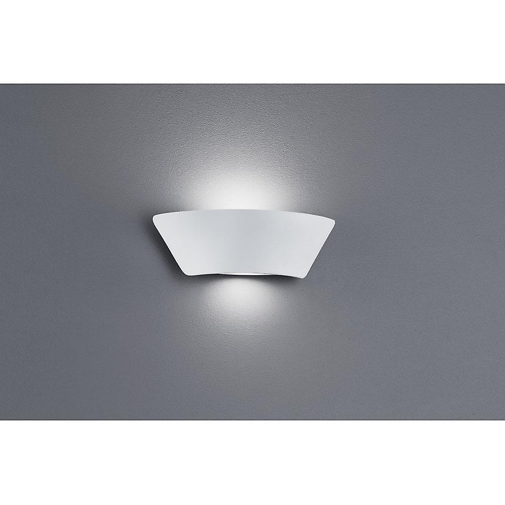Trio lumièreing SacraHommesto Modern blanc Matt Diecast Aluminium Wall Lamp