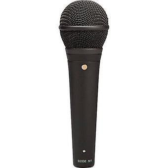 Microphone (vocals) RODE Microphones M1 Transfer type:Corded incl. clip