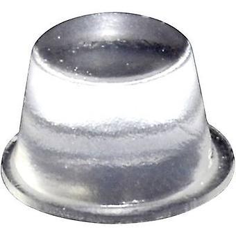 TOOLCRAFT PD2164C pé circular, auto-adesivo transparente (Ø x H) 16,5 x 10,2 mm 1 computador (es)