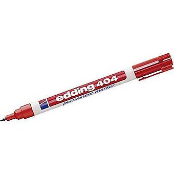 Edding Permanent marker edding 404 Red waterproof: Yes 4-404002