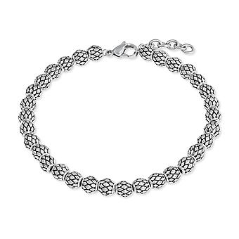 s.Oliver jewel mens bracelet stainless steel Silver Black 2022629