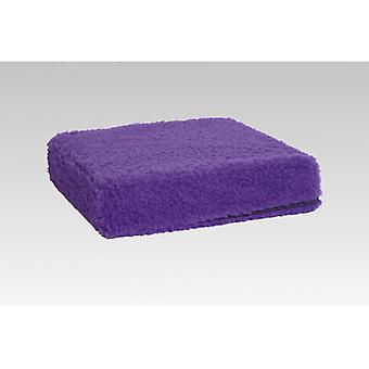 Booster seat cushion stand-up help violet 40 x 40 x 10 cm