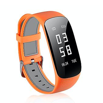 Z17 Bluetooth Activity wristbands for iOS & Android-Orange