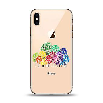 Happy Trees Phone case - iPhone XR