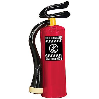 Fireman Firefighter Accessory Prop Boys Costume Inflatable Fire Extinguisher