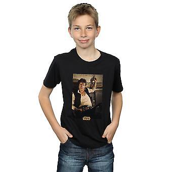 Star Wars gutter Han Solo Mos Eisley t-skjorte
