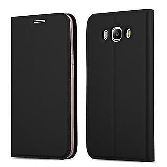 Cadorabo Hülle für Samsung Galaxy J7 2016 Case Cover - Handyhülle mit Magnetverschluss, Standfunktion und Kartenfach – Case Cover Schutzhülle Etui Tasche Book Klapp Style