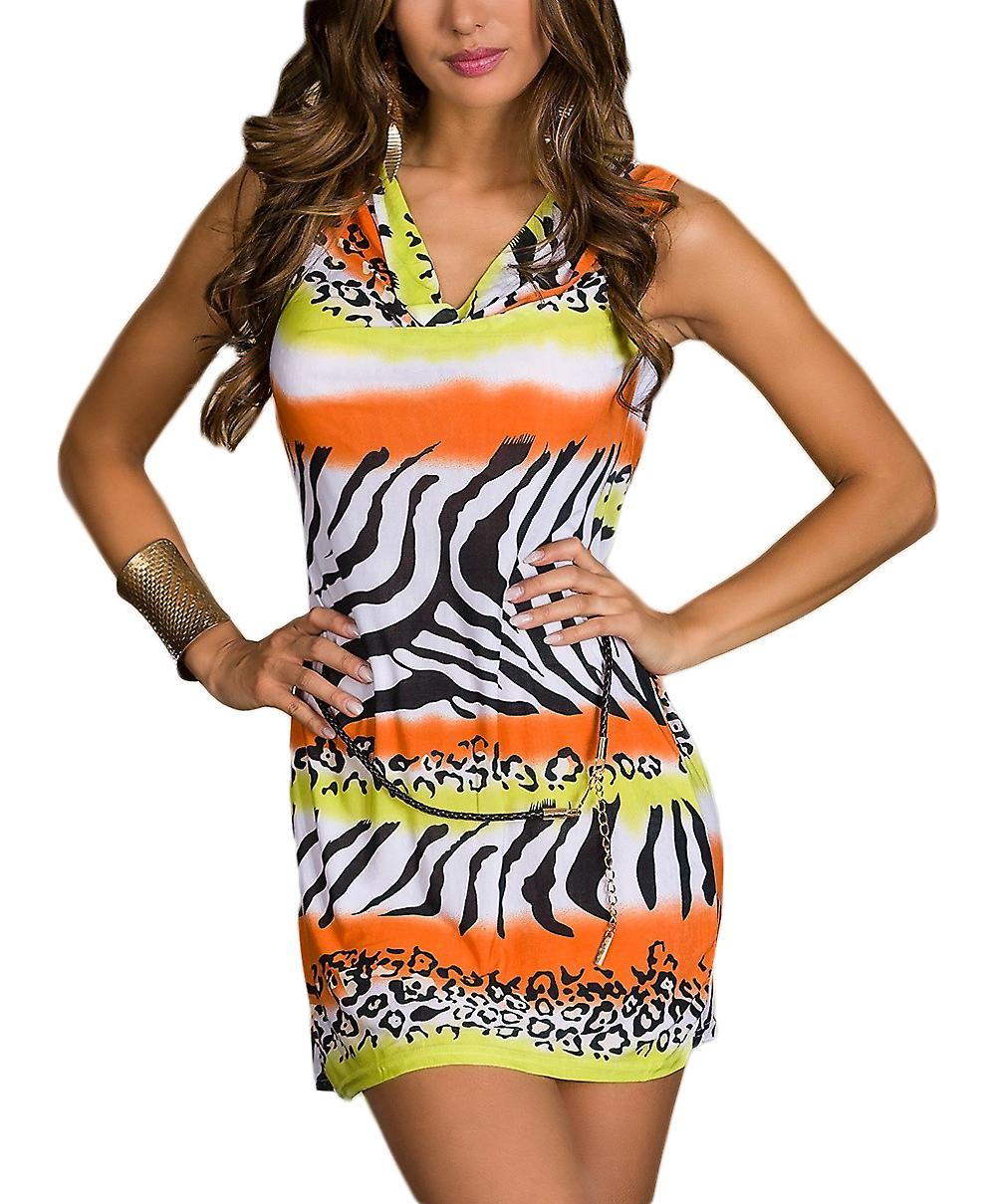 Waooh - Zebra Print Dress Totam