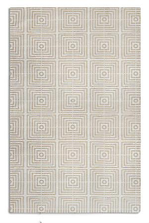 Be Square BES 03 Beige Rectangle Rugs Funky Rugs