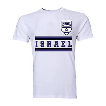 Israel Core Football Country T-Shirt (White)
