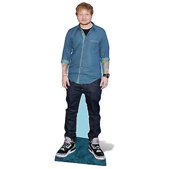 Ed Sheeran Lifesize Pappausschnitt / Standee