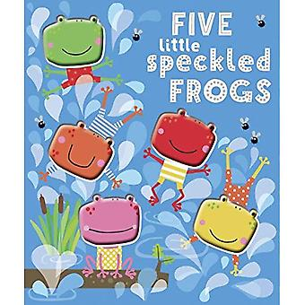 Five Little Speckled Frogs (Board Book)