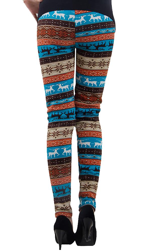 Waooh - Winter Legging pattern reindeer Sira