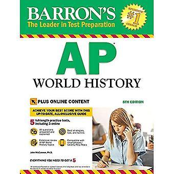 Barron's AP världshistoria, 8th Edition: med Bonus Online tester