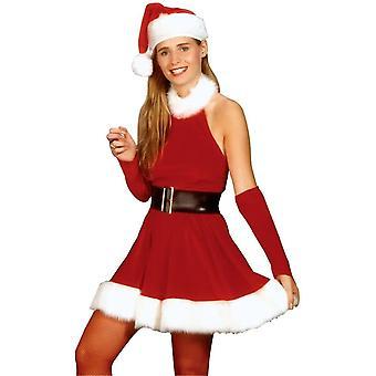 Smukke Santa voksen kostume